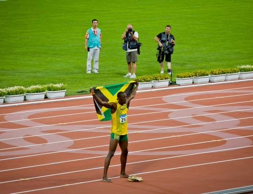 Usain Bolt Wins Olympic Gold with 100m World Record