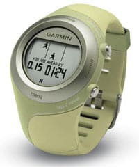 Garmin Forerunner 405 screen