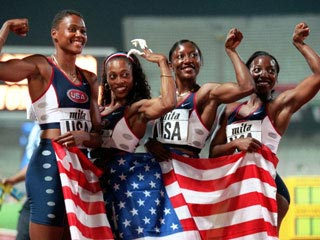 Marion Jones Olympic relay team medals revoked