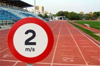 Wind speed limit and rules for track