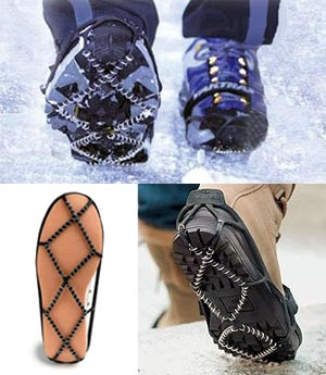 YakTrax improve traction for winter running